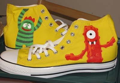 Yo Gabba Gabba shoes